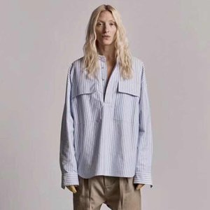 19SS FEAR OF GOD Pullover Shirts Henley FOG 6th T Shirt Jacket Tops Vintage Coat Casual Sun Protection Clothing Outwear Jacket HFYMJK223