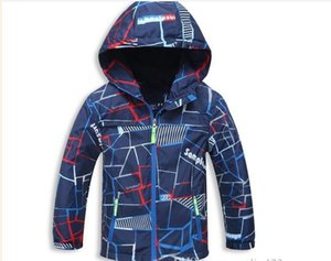 New Spring Autumn Children Outerwear Jackets Sport Fashion Kids Coats Double-deck Waterproof Windproof Boys Jackets