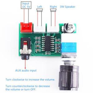 3pcs / lot XH-A157 Voice Amplifier Module AUX PAM8403 Stereo 3W+3W DC 5V Digital Power Amplifier Board