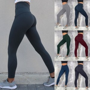 Womens Fitness Yoga Leggings Running Gym Sport Pants High Elastic Waist Jogging Pants Trousers for Female