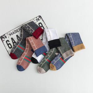 Носки для женщин GG чулок Винтажных Открытых аксессуаров Хлопка носки Мода ретро Пяти цветов Йога Универсального