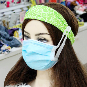 Anti strangulation Button Hair Band Women Headband Stretch Sport Accessory Simple Solid Color Yoga Headband Wide Hair Accessories