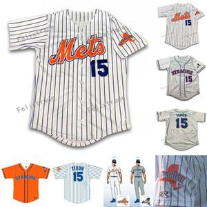 15 Tim Tebow Siracusa pullover di baseball 20 Pete Alonso Jersey Uomini personalizzati donne della gioventù con cuciture doppie