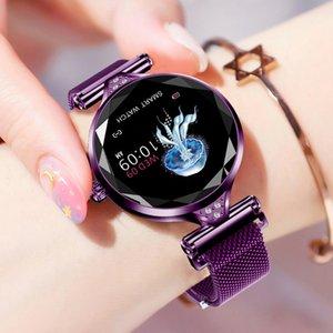 Frauen Smart Watch reloj inteligente Heart Rate Monitor Fitness Tracker Lady Smart-Band Bluetooth wasserdichte intelligente Armband