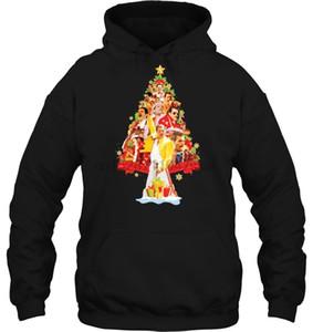 Men Hoodie Freddie Mercury Christmas Tree Women Streetwear