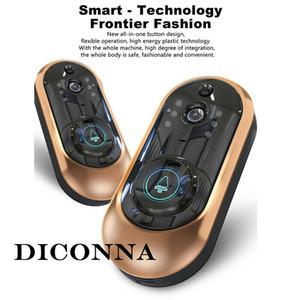 원격 1080P / 720P 무선 WiFi 비디오 초인종 양방향 토크 스마트 도어 벨 홈 보안 적외선 나이트 비전 제어