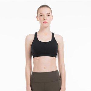 Femmes Sport pleine expression Débit Y Bustier Ligne énergie col montant Peek Yoga Workout Gym sexy dos nu Gilet Sexy Lady Sous-vêtements