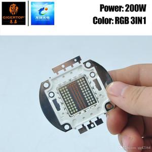 RVB Freeshipping 3IN1 Couleur de scène COB Led Lamp 30V-34V haute luminosité lisse Dimmer 3 LED de couleur COB lampe Chip