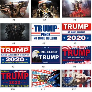 2020 USA President Election 3*5FT Donald Trump 2020 Flags Keep America Great Banner 12 Styles Garden Flags for