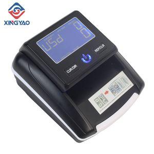 شاشة LCD للكشف عن الأوراق النقدية المحمولة USD / EUR آلة الكشف عن الأموال وهمية