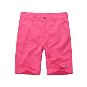 Eden Park 2020 del verano del algodón puro del color hombres de los cortocircuitos de alta calidad botón casual Tamaño de la cintura de los hombres de Calle Pantalones cortos masculino 30-40 CX200701