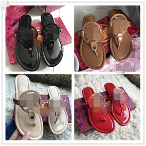 2020 Women Summer Beach Thong Sandals gg Shoes luxury Designer slides women Brand flip flops channel Miller Slippers Flat Woman