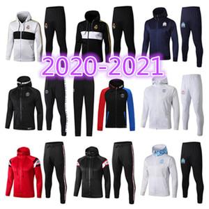 S-XXL 2020 2021 Jordam X París chaqueta con capucha Survetement 20 21 Paris Mbappé Real Madrid chaquetas de fútbol Jordam aire TRACKSUIT fútbol