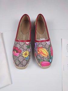 piattaforma di epoca sandalo scarpe firmate lusso Espadrillas scarpe da donna di marca plate-forme luxe sandali di formato dei pattini pescatore di 35 U1i