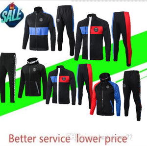 20 21 paris Mbappe Verratti giacca della tuta con cappuccio Survêtement 20 Parigi hoodie vestiti di formazione CAVANI calcio giacca TUTA