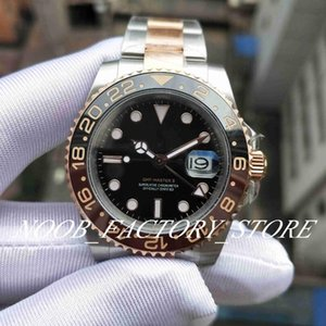 2018 Basel World New Model 2813 126711CHNR 126711 GMTII Rose gold 40mm BP Factory 2813 Automatic mens Watches Wristwatches Diving Watch