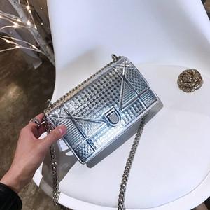 Großhandels-Designer-Handtasche Luxus-Handtaschen-Qualitäts-Dame-Kettenschultertasche Lackleder Diamant Luxus Abendtaschen Umhängetasche