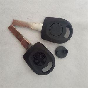 Chip Car Key Blank Case For VW Volkswagen Passat B5 Golf Beetle Transponder Key Shell HU66 Blade
