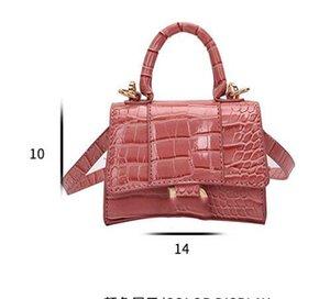designer handbag purse crocodile grain women chain shoulder bag handbag ladies bag designer luxury fashion messenger bag baguette package