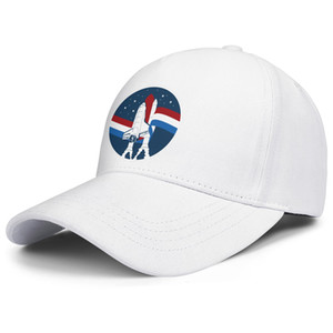 Still Pioneers Reagan Space Pioneer American Airlines mens and womens adjustable trucker cap fitted cool cute unique baseballhats Logos