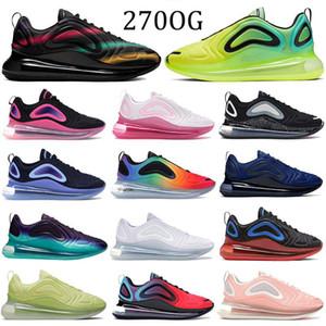 72OG New Runner Sneakers 2019 SER VERDADEIRO Preto Neon Streaks Esporte Running Shoes Midnight Marinha Laser Laranja Triplo Sapatos De Grife Pretos 5-11