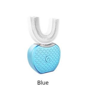 360 Derece Kablosuz USB Şarj Tembel Otomatik Sonic Silikon Elektrikli Diş Fırçası Diş Beyazlatma Temizleme Fırçası Ağız Bakımı Aracı