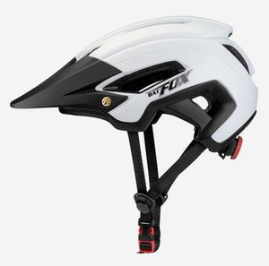 BATFOX Fahrradhelm Männer Frauen-Fahrfahrradhelm vollvergossenen EPS + PC Helme Casco Casque Velo Straßen-Berg MTB Fahrradhelme # 2020