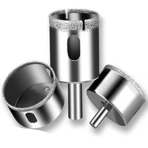 6-60mm Diamante Brocas Set Buraco Saw ferramenta do cortador de vidro Marble Granite Top Quality frete grátis