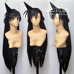 애니메이션 탐정 코난 모리의 란 가발 로리타 긴 머리 가발 코스프레 80cm에 대한 세부 사항
