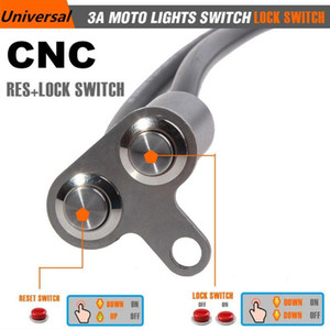 Motorcycle Handlebar Switch Adjustable Mount Waterproof Horn Engine Start Kill