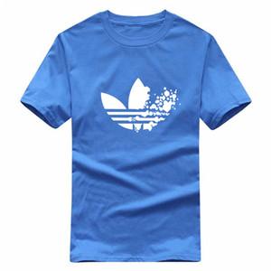 NewAdid Designer T Shirts Hip Hop Mens Designer T Shirts Marca de moda Mens Womens manga corta de gran tamaño T Shirts