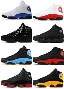 2019 uomini 13 ATMOSFERA GRIGIO gatto nero tappo allevato e camice sporco Chicago cp pe allevati laurea pack Hyper Reale Laker Formazione scarpe da basket