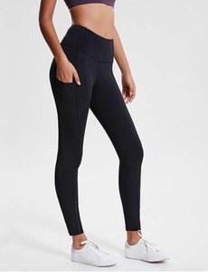 Frauen Yoga Outfits Damen Sport Yoga Leggings Damen Hosen Übung Fitness Tragen Mädchen Lauf Yoga Hosen Seitentaschen
