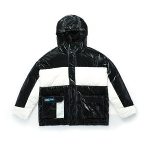 parkas para hombre del diseñador Parkas abajo cubre lujo Igualdad de color gruesa chaqueta a prueba de viento de invierno chaquetas para mujer Outdoorwear capucha Abrigo