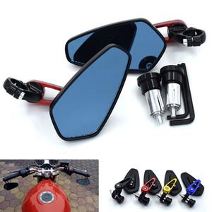 "Universal 7 8"""" 22mm handle bar motorcycle bar end mirror Motorcycle Mirror for ktm 125 200 390 duke 690 SM 690SM"