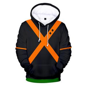 2019 sudadera con capucha 3D My Hero Academia 3D de alta calidad Hombres / Mujeres Personalidad Casual Jerseys con capucha Sudaderas My Hero Academia