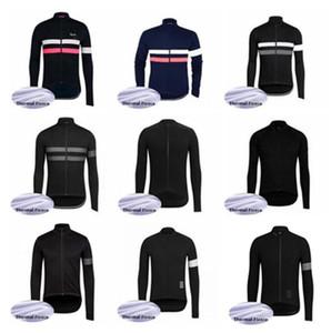 Команда Rapha 2019 задействуя Джерси верхней куртки Зимнего Термальной руно износа велосипед одежду 60921