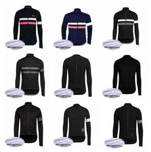 equipe Rapha 2019 cycling jersey top revestimento do inverno do velo térmica desgaste bicicleta roupas 60921