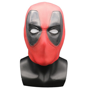 Film Deadpool Cosplay Maske Latex Ganzkopfhelm Deadpool Wade Winston Wilson Party Kostüm Masken Erwachsene Lustige Requisiten