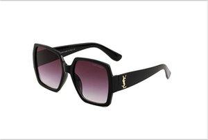 2019 nova moda vintage óculos de sol 55931 mulheres marca designer homens populares das mulheres óculos de sol grande quadro quadrado de vidro frete grátis