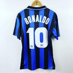 Camicie Retro Inter maglie calcio Ronaldo Milito Baggio Crespo Vieri Futbol Camisas Vintage Milano Football Camisetas Classic Kit Maillots