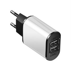 AB Tak USB Şarj 2A Güvenli Hızlı Samsung Xiaomi DHL Stok Free için Huawei Kindle HTC için USB Adaptör Avrupa Seyahat Duvar Şarj Şarj