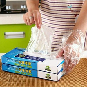 100Pcs set Disposable Gloves For Safety Protection Home Kitchen Cooking Cleaning
