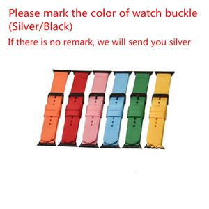 Mayor de los colores mixtos correas de reloj correa de nylon color puro para el reloj inteligente iwatch3 / 4 generación, con 38 mm de 42 mm de nylon libre del envío