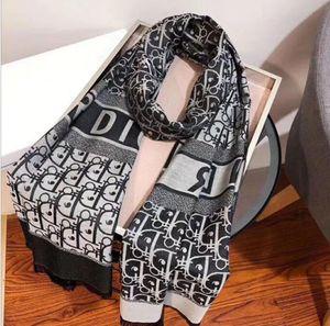Lenços Atacado-mulheres de luxo inverno lenço de seda szaliki i chusty sjaal hijab xale accesor rede poncho echarpe hiver femme foulard