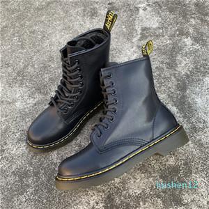 Erkek spor ayakkabısı chaussures tek Deri kış Motorlu L12 çalışmak 1460 tasarımcı martin dr Martins kadın martin önyükleme doc aston erkek ayakkabı