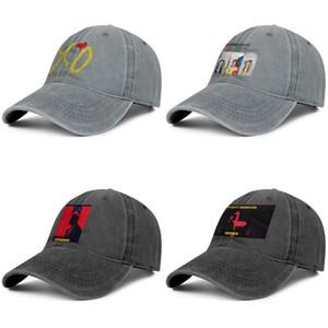 El monstruo Weeknd partido para los hombres y mujeres del camionero gorra de mezclilla fresca originalcool campo stylishcustom sombreros fondo de pantalla impresionante XO con armarios