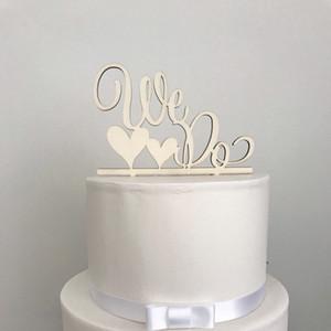Hacemos Wedding Cake Topper Personalizado Romántico Romántico Wedding Cake Topper Decoración de fiesta para aniversario Pareja MrMrs