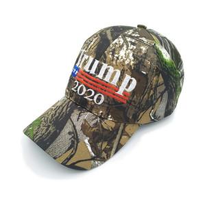 Kamuflaj Donald Trump 2020 Beyzbol Şapka Bay Bayan Ayarlanabilir Snapback Gömme Şapka Amerika Büyük Nakış Harf Yıldız Kamuflaj Hat D22603 tutun
