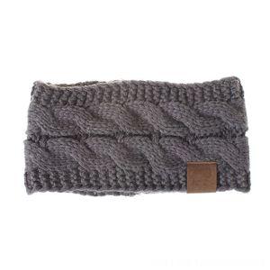 Super sellSpring Winter Ear Warmer Headband For Women Knitted Crochet Twist Sports Caps & Headwears Athletic & Outdoor Accs Hair Band Girls